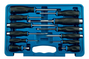 Laser 5983 12 Piece Screwdriver Set